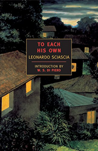 To Each His Own (New York Review Books Classics)