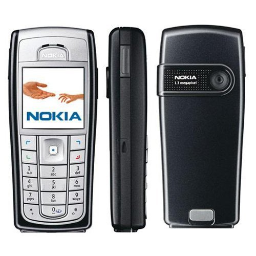 (Nokia 6230i Mobile Camera Cell Phone Unlocked Silver)