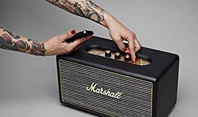 Marshall Stanmore Wireless Bluetooth Stereo Speaker System - Black (Certified Refurbished)