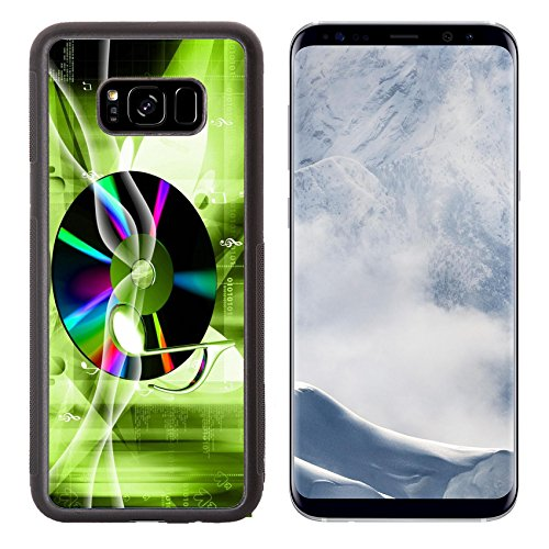 Liili Premium Samsung Galaxy S8 Plus Aluminum Backplate Bumper Snap Case Digital illustration of Music sign in colour background Photo 6296077 Simple Snap Carrying (Sound Effes)
