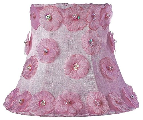 Jubilee Collection 2057 Petal Flower Chandelier Shade, Pink
