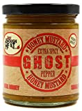 Ghost Pepper Honey Mustard - Sauce, Dressing, Pretzel Dip - Very Hot & Spicy by Just Enough Heat