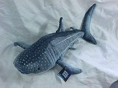 Blue Whale Shark Plush Stuffed Animal Toy 24 by Rhode Island Novelty