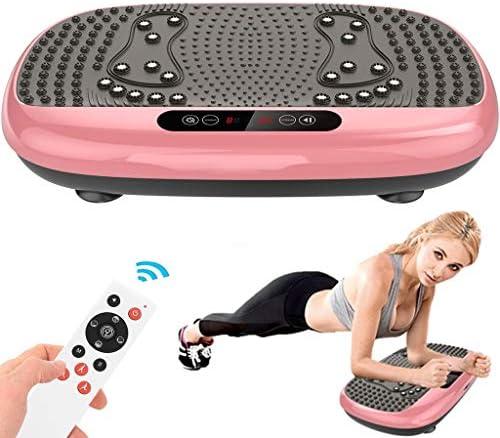 Xinqinghao 3D Full Body Vibration Platform Body Shaker Flat Platform Massager Fitness Platform Home Gym Office Training Equipment Power Board for Weight Loss, Wellness & Toning, 99 Levels 1