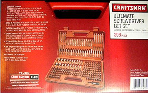 Review Craftsman Ultimate Screwdriver Bit