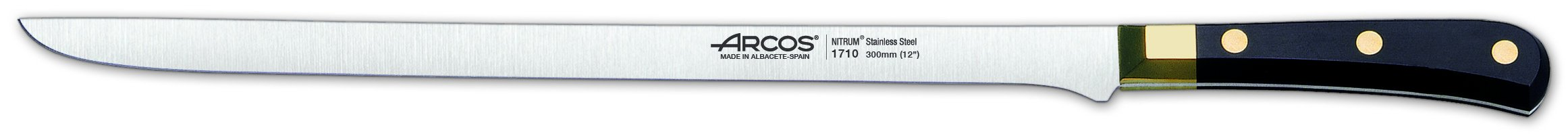 Arcos Regia 12-Inch Slicing Spanish Flexible Ham Knife