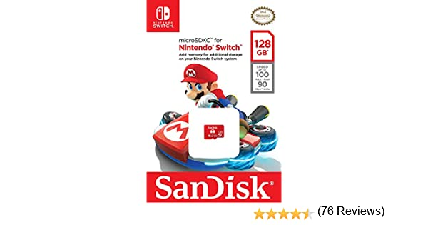 SanDisk SDSQXBO-128G-AWCZA - Tarjeta microSDXC UHS-I de 128 GB ...