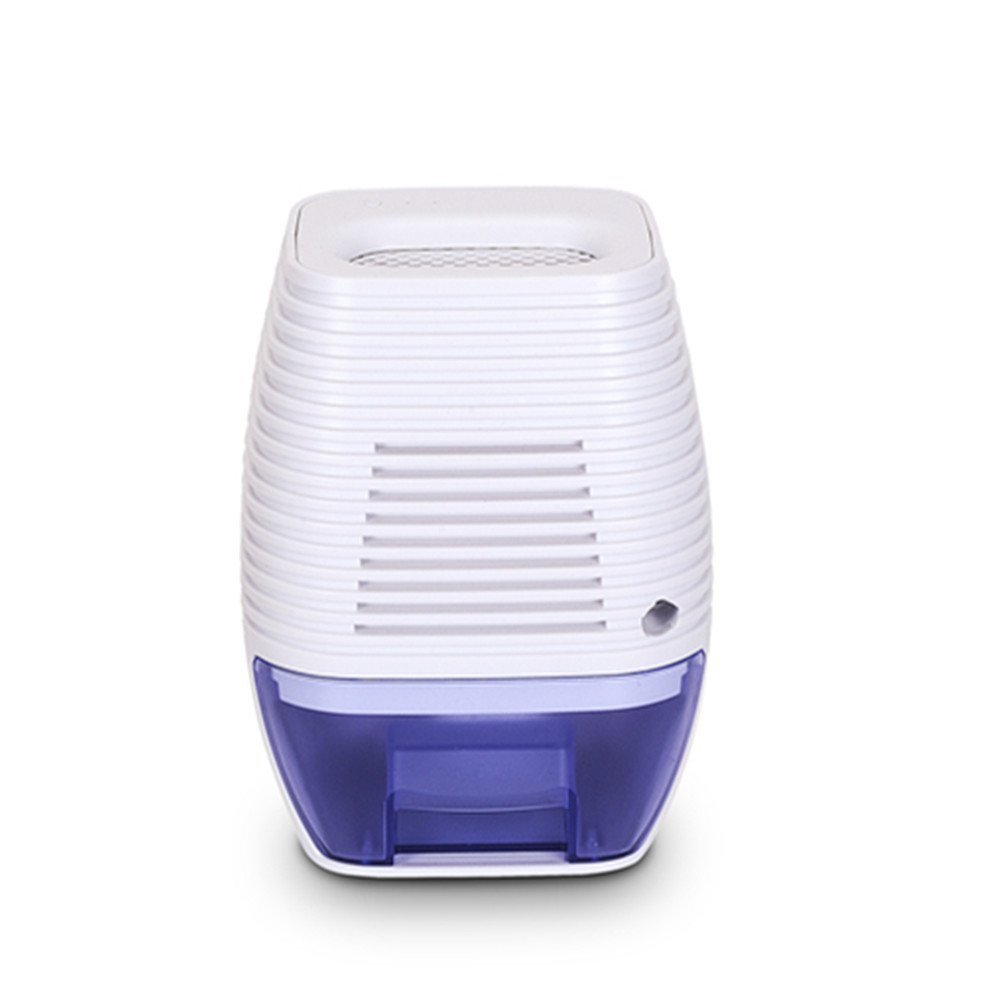 FociPow Compact Electric Dehumidifier, Mini Dehumidifier For Home Kitchen Bedroom Caravan Office Garage