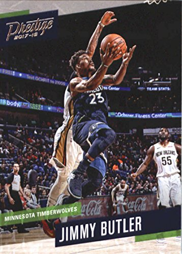 (2017-18 Panini Prestige #133 Jimmy Butler Minnesota Timberwolves Basketball Card)