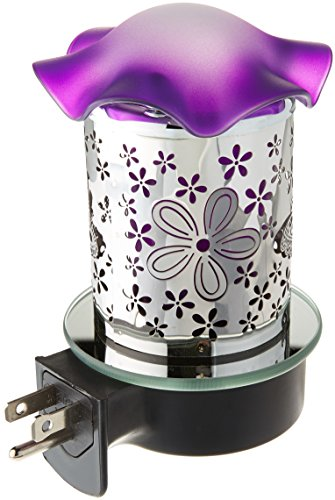 Aurora PMW151 Metal Plug-In Night Light Oil Warmer by Aurora