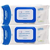 Mustela Bebe Range Dermo-Soothing Wipes - Delicately Fragranced
