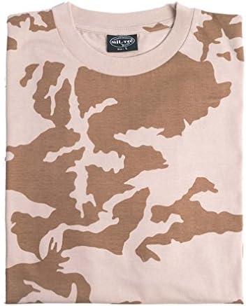 Mil-Tec Herren T-Shirt NVA Strichtarn