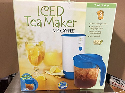 Mr Coffee Ice Tea Maker/ 3 Quart/ Model TM30