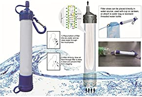Filtro purificador de agua portátil Ele Personal 1000 litros ...