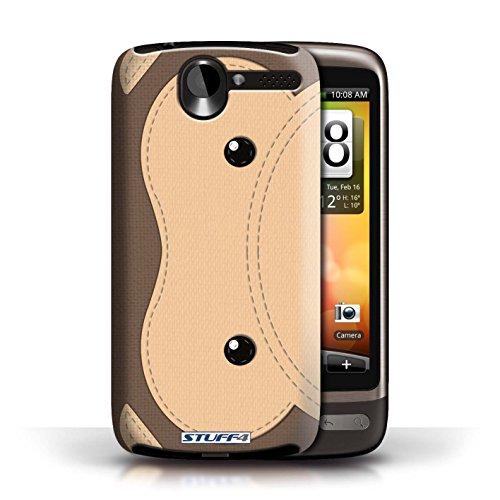 Coque de Stuff4 / Coque pour HTC Desire G7 / Singe Design / Cousu des Animaux Effet Collection