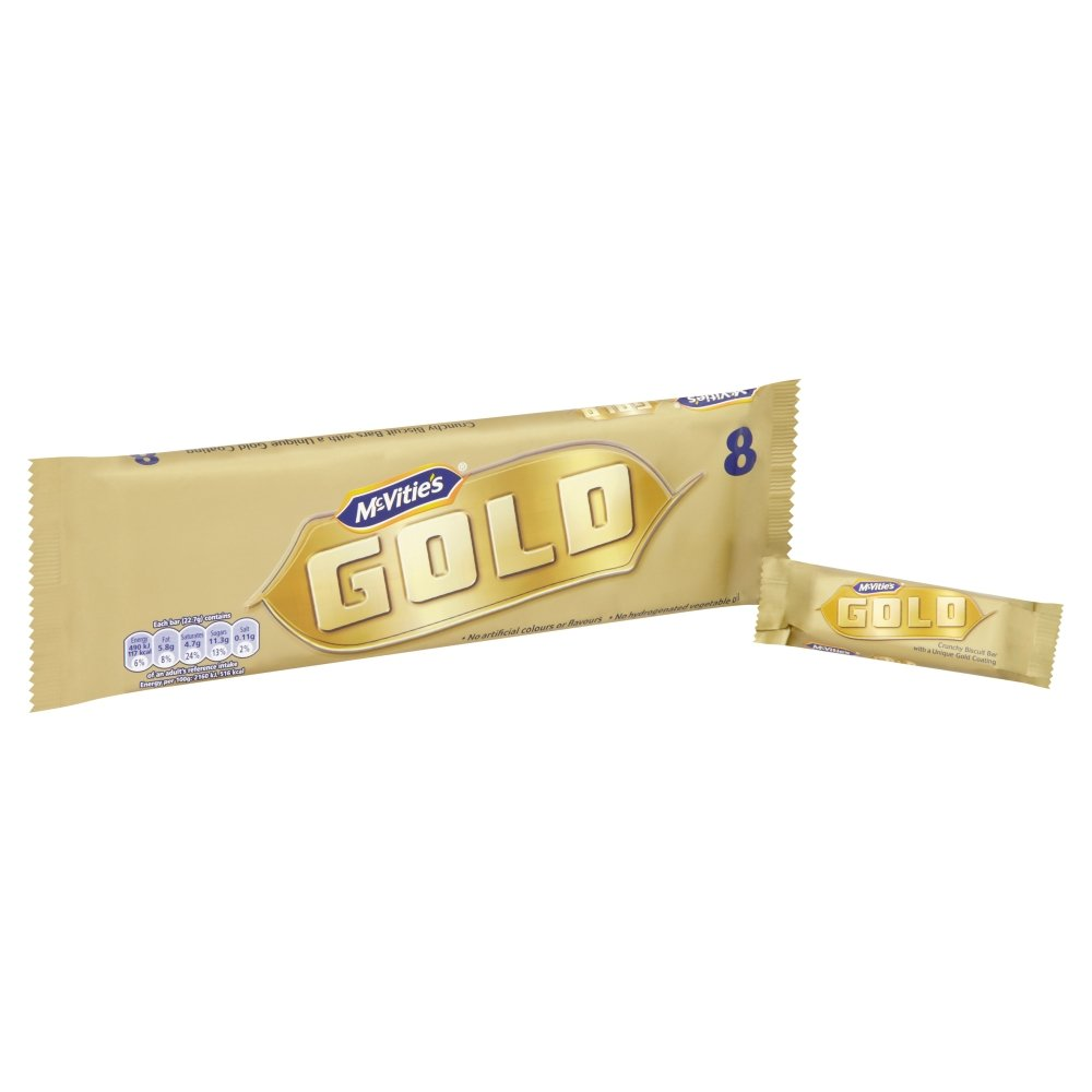 McVities Gold Biscuit Bars 9pk - Case of 12 by McVitie's (Image #1)