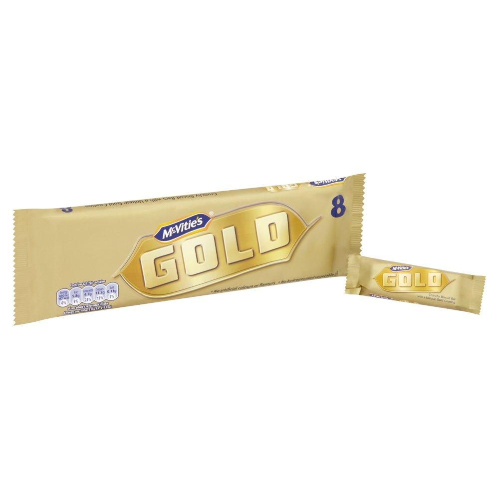 McVities Gold Biscuit Bars 9pk - Case of 12