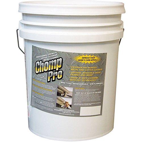 Chomp Worlds Best Gutter Metal and Trim Cleaner 5-gallon