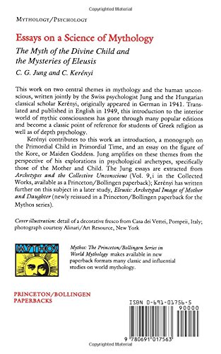 Amazoncom Essays On A Science Of Mythology  Carl G  Amazoncom Essays On A Science Of Mythology  Carl G Jung  Carl Kerenyi Books