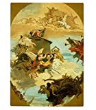Miracle Holy House Of Loreto (Tiepolo) Kitchen Bar Glass Cutting Board 11''x8''