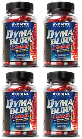 a18e68fe6eff0 Amazon.com: (4 PACK) - Dymatize Nutrition - Dyma-Burn Xtreme | 120's ...