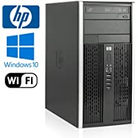 HP 6000 Pro Tower - Intel Core 2 Duo 3.0GHz - NEW 1TB HDD - 8GB RAM - Windows 10 Pro 64-bit - WiFi - DVD-RW (Prepared by ReCircuit)