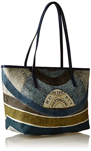Gacpu0020055 Gattinoni Bag Blue Women's luna 155 Shoulder Arq8AB5