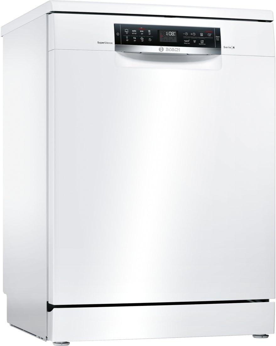 Bosch Serie 6 SMS68TW03E lavavajilla Independiente 14 cubiertos A ...