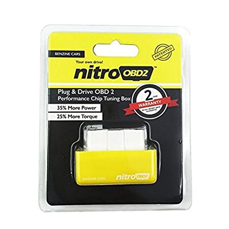 Yellow High Quality OBD2 Performance Chip-Save Fuel//Gas For PONTIAC GRAND PRIX