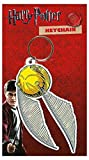 Harry Potter Keyring Keychain Quidditch Golden Snitch Official White Rubber