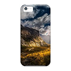 Cute Appearance Cover/tpu LJcoO6196YUeAp Majestic Valley Case For Iphone 5c