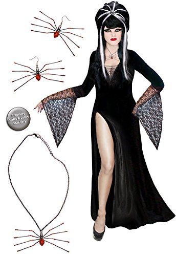 Sanctuarie Designs Dark Mistress Plus Size Supersize Halloween Costume Basic Kit 6x]()