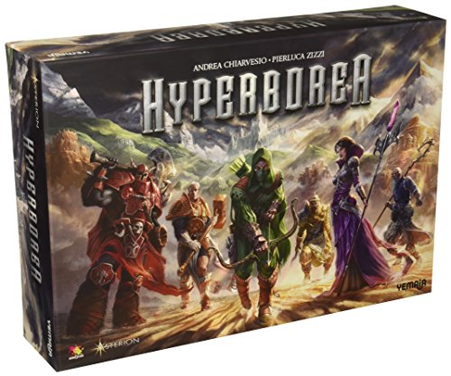 Asmodee HYB01USASM Hyperborea Board Game
