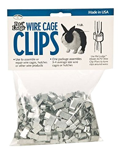 Amazon.com: Miller Manufacturing ACC1 Wire Cage Clips, 1-Pound Bag ...