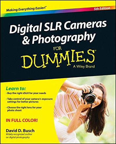 Price comparison product image Digital SLR Cameras and Photography For Dummies (For Dummies Series)