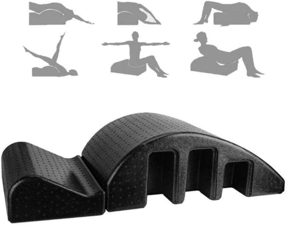 Corrección de columna multipropósito Corrección cervical Yoga Masajeador de espalda Equipo de ortesis Camilla de relajación para soporte lumbar