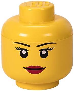 Lego - Cabeza de Almacenaje Niña S (Room Copenhaguen #40311725): Amazon.es: Juguetes y juegos