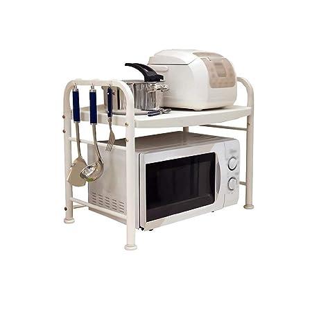 GOHHK Rejilla Horno Microondas para Cocina 1 Capa 2 Capas Acero ...