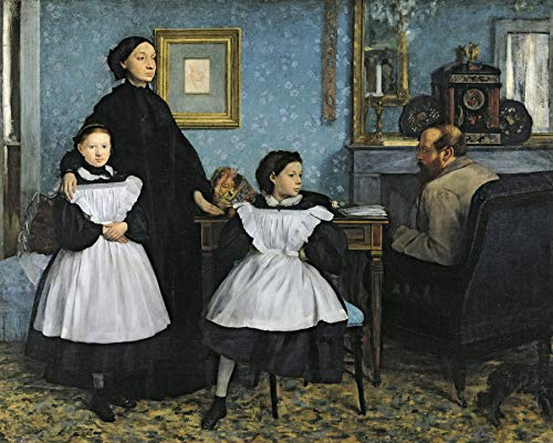 Edgar Degas The Bellelli Family 30