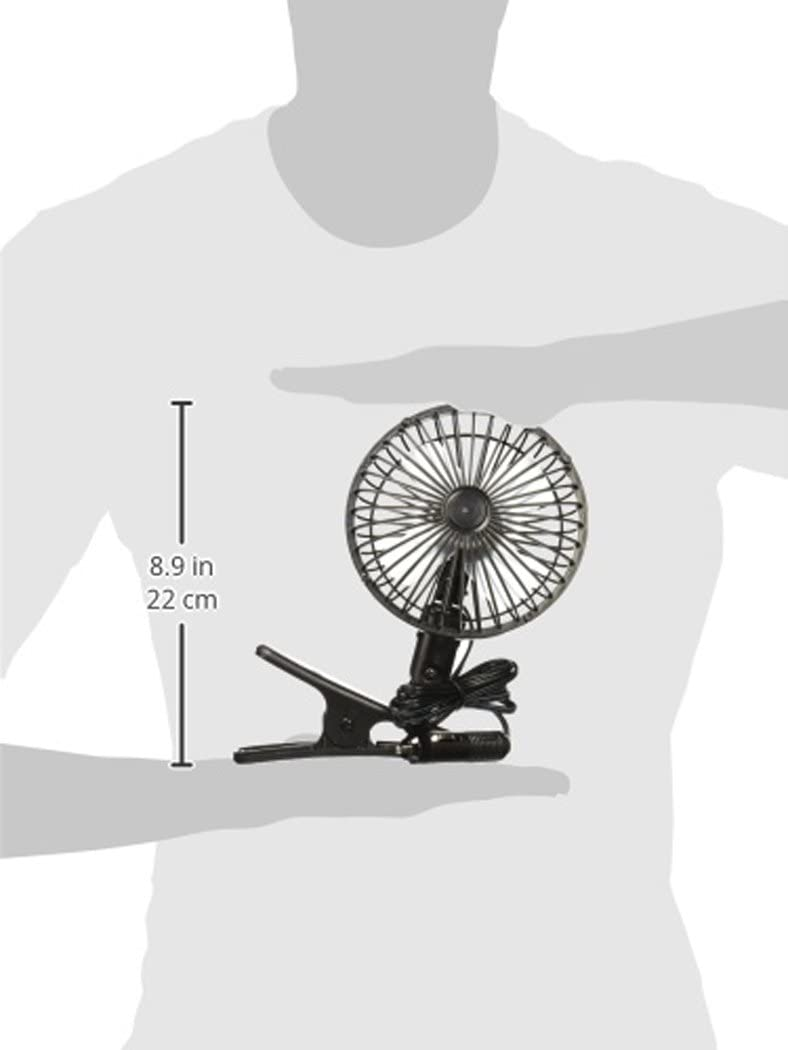 Prime Products 060503 12V Clip-On Fan