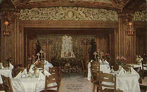 Graces Fountain (Hotel La Salle - The Three Graces, Blue Fountain Room Chicago, Illinois Original Vintage Postcard)