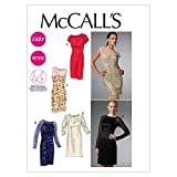 McCall's Patterns M6460 Misses'/Miss Petite Dresses, Size A5 (6-8-10-12-14)