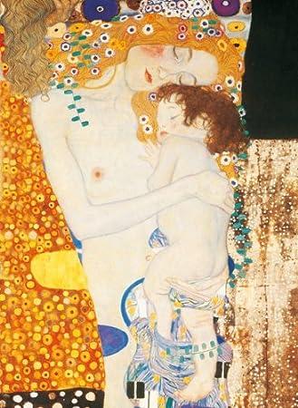 Clementoni - Puzzle de 1000 piezas con diseño Klimt: Madre e Hija (31469.0): Amazon.es: Juguetes y juegos