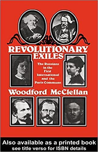 Book Revolutionary Exiles: The Russians in the First International and the Paris Commune 1st (U.S edition by McClellan, Woodford (1979)
