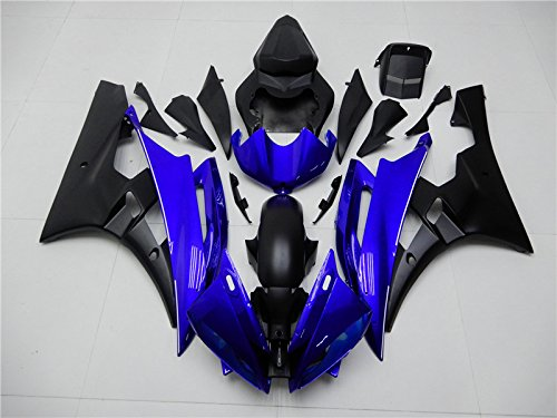 New Injection Mold ABS Plastics Bodywork Body kit Bodyframe Body Work Fairings Fit for Yamaha 2006 2007 YZF R6 600R (Plastic Fairing Body)