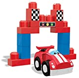 Mega Bloks First Builders Speedy Racecar Building Set