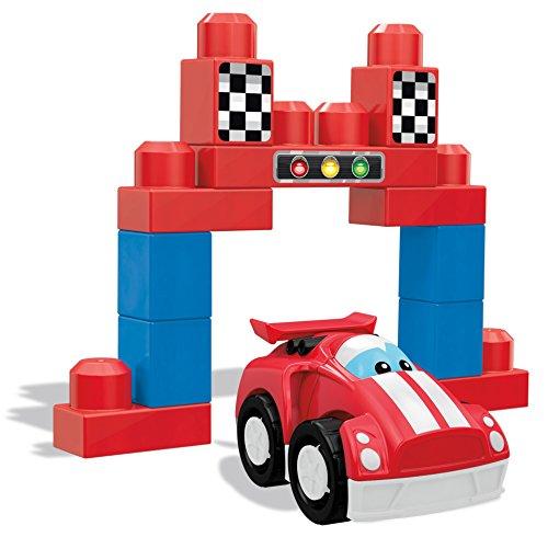 Mega Bloks First Builders Speedy Racecar Building Set