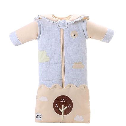 BabyFat Sacos de Dormir Pijamas para Bebé Otoño/Invierno 3.5 Tog 0-2T Beige