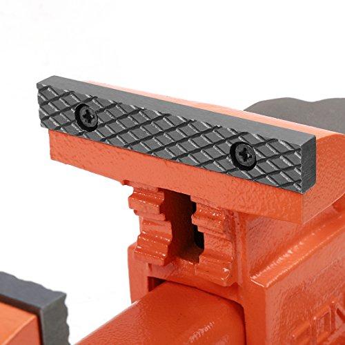 Pony 29040 4-Inch Heavy-Duty Workshop Bench Vise with Swivel Base by Pony (Image #5)