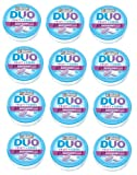 Ice Breakers Duo Raspberry Mints, 1.3-Ounce Pucks(Pack of 12)